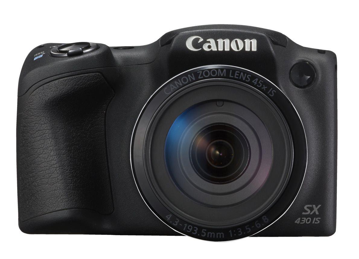 Canon PowerShot SX430 IS Digital SLR Camera (Black)